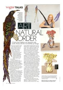 thumbnail of Alexandra Spring 'Art Natural Order' Vogue, Sept Issue 2011 p218