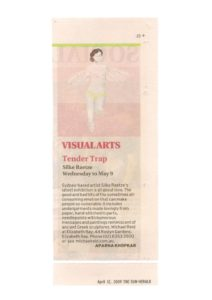 thumbnail of Aparna Khopkar 'Visual Arts' Sun Herald, Entertainment Section, p23