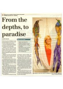 thumbnail of Jennifer Bennett 'From the depths to paradise',Wentworth Courier, 23 March 2011 p7