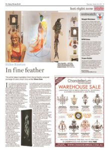 thumbnail of Steve Dow 'In fine feather', Sydney Morning Herald, 24 March 2011, p7